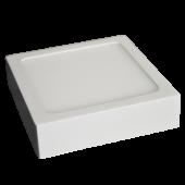 6W LED Surface Panel Premium - Square White