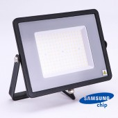 100W LED Floodlight SMD SAMSUNG CHIP SLIM  Black Body 4000K 120LM/W