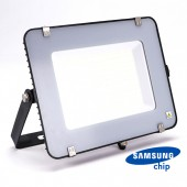 150W LED Floodlight SMD SAMSUNG CHIP SLIM  Black Body 4000K 120LM/W