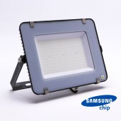 150W LED Floodlight SMD SAMSUNG CHIP SLIM  Black Body 6400K 120LM/W