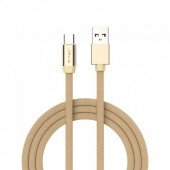 1m. Type C USB Cable Gold - Ruby Series