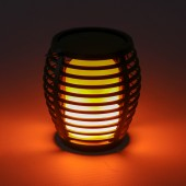 1W Solar Wall/Bollard/Hanging Light Flame