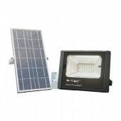 12W Solar Panel with LED Floodlight 4000K