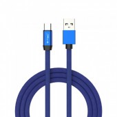 1m. Type C USB Cable Blue - Ruby Series