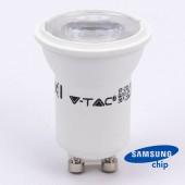 LED Spotlight SAMSUNG CHIP - GU10 2W MR11 80RA 6400K