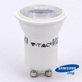 LED Spotlight SAMSUNG CHIP - GU10 2W MR11 80RA 3000K