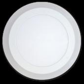 6W+2W LED Surface Panel - Round Warm White