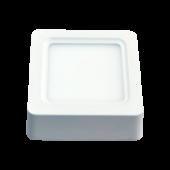 8W LED Surface Panel - Square Warm White