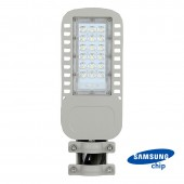 LED Street Light SAMSUNG Chip 5 Years Warranty 30W Slim 4000K 120 lm/Watt