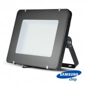400W LED Floodlight SMD SAMSUNG Chip Slim Black Body 4000K 120 lm/Watt