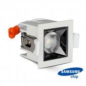 LED Downlight - SAMSUNG CHIP 4W SMD Reflector 12'D 2700K