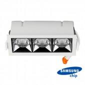 LED Downlight SAMSUNG Chip 12W SMD Reflector 12° 4000K