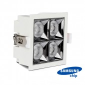 LED Downlight SAMSUNG Chip 16W SMD Reflector 12°4000K