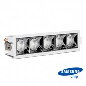 LED Downlight SAMSUNG Chip 20W SMD Reflector 12° 5700K