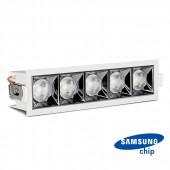 LED Downlight SAMSUNG Chip 20W SMD Reflector 38° 2700K