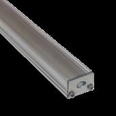 Aluminum Profile Narrow Flat Cap Matt