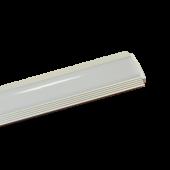 Aluminum Profile Set Milky Cover 100cm