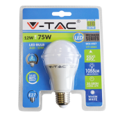 LED Bulb - 12W E27 A60 Thermoplastic Warm White Blister Pack