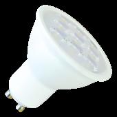 LED Spotlight - 3W GU10 Plastic Warm White