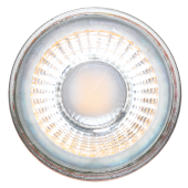 LED Spotlight - 5W GU10 Glass Cup With Lens Warm White