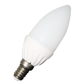LED Bulb - 4W E14 Candle White