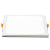 15W LED Panel Downlight - Square White