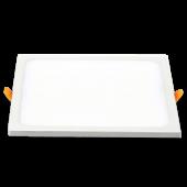15W LED Panel Downlight - Square Warm White