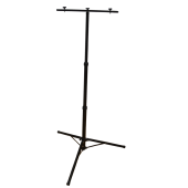 Tripod Stand for Floodlights Black